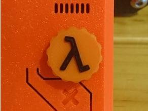Prusa i3 MK3 Half-Life Knob