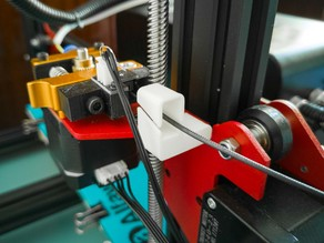Filament guide for CR-10S, Ender-3, Alfawise U20, etc.