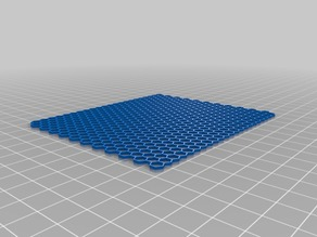honeycomb 3mm 22 x 22 dia90mm 0.4line, 1.2height
