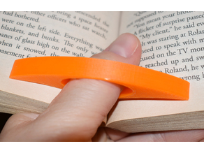 Your name on a Book Page Holder for Big Thumbs