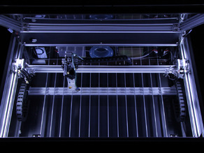 Laser Cutter (World's largest self-assembly (DIY) style CO2 laser cutter and engraver)