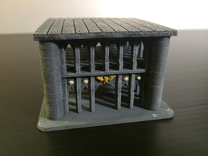 Small Imperium Building #1 for Epic 40K (6mm scale)