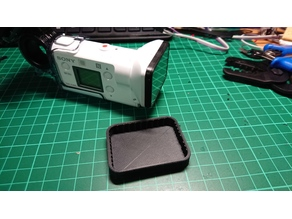 Lens cover for Sony FDR X3000 protector