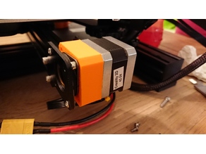 Ender 3 Y-axis stepper motor damper spacer
