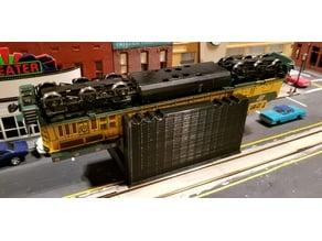HO Scale Locomotive Cradle