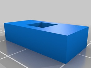My Customized Hollow Calibration Cube