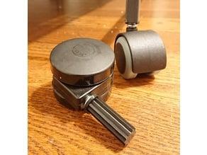 """Caster Wheel Socket for 1/2"""" Square Tubing"""