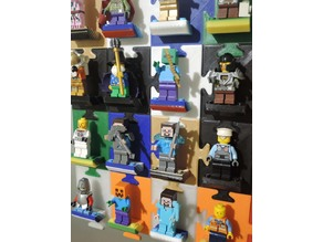 Magnetic Lego minifig stand (updated)