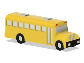 School Bus (Print in Place)