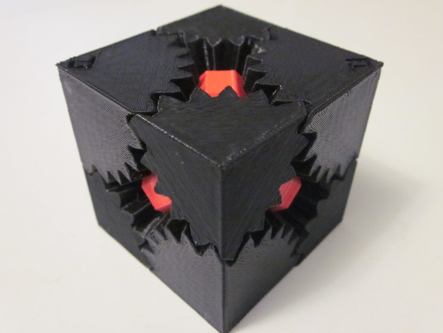 Customizable Cube Gears By Emmett Thingiverse