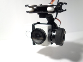 Primbal - 3D Printed 3-Axis Brushless Camera Gimbal for XiaomiYi/GoPro