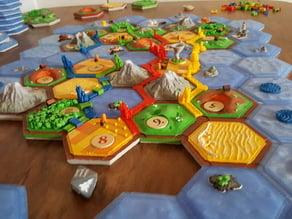 the great race (scenario: settlers catan style)
