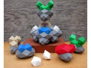 More Space Filling Polyhedra Blocks