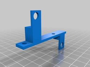 Snap-Fit Blower Fan Duct mount for Wanhao Duplicator i3