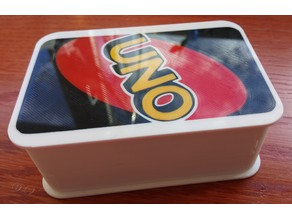 Card box for UNO game cards