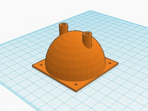 Combustion Chamber for deLaval nozzle (https://www.thingiverse.com/thing:144657)