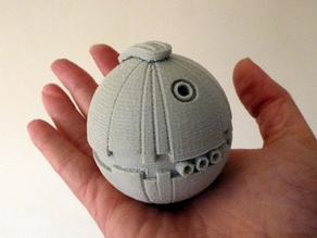 Thermal Detonator from Star Wars, Makes great Christmas tree baubles with a bang!