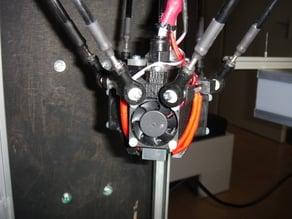 e3d Hotend tripple fan mount