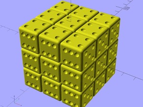 "Ekobots - Rubik´s Cube ""As one piece""."