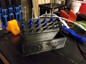 CNC bit holder