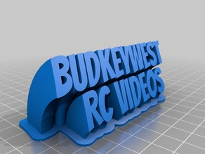 Budkeywest sweeping nameplate