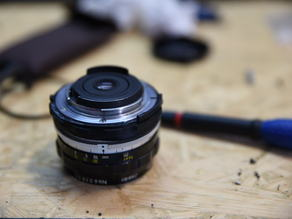 3D printed AI conversion kit for NIKKOR-H Auto 28mm f/3.5 (and probably others)