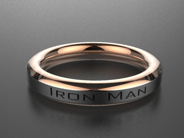 IRONMAN RING by KEVINhenderson - Thingiverse