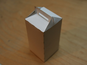 Functional Papercraft: The Laser Cut Takeout Box