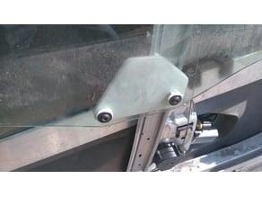 Glass holder for window regulator Smart ForTwo (450)