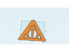 deathly hallows symbol from Harry Potter