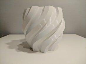 Twisted Hexagon Vase
