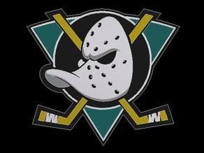 Anaheim Ducks Throwback Logo (Step File)