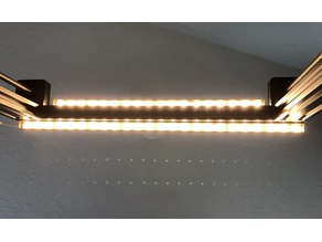CR-10 led strip holder