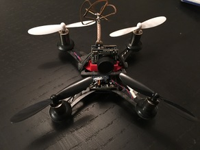 Eachine QX90 tilted camera support
