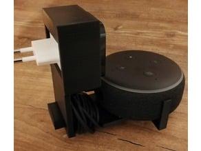Echo Dot V3 Plug Mount