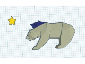 Low Poly NCR Bear