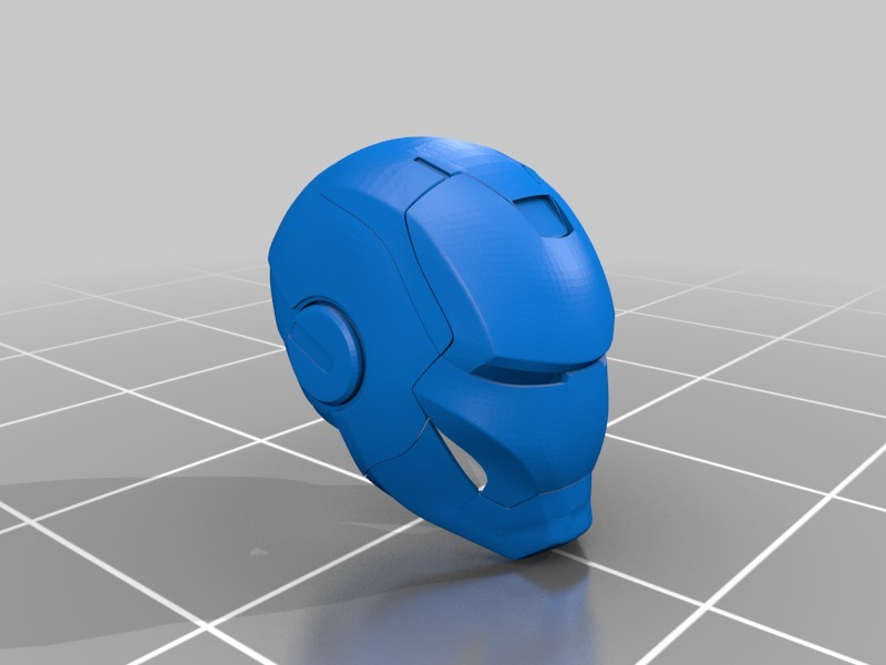 IronMan Helmet by cairon - Thingiverse
