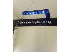 Wanhao i3 Duplicator filament guide with led