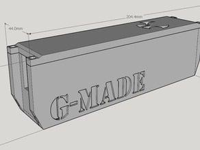 Electronics box for axial crawler