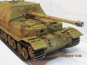 Elefant Ferdinand Tank Parts 1/16 scale RC