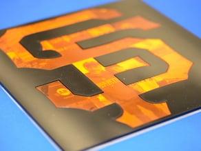 San Francisco Giants World Series Plaque