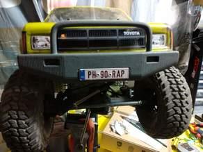 Front Bumper Designed For Proline Hilux 85 SR5 Body Vaterra Ascender Mounts