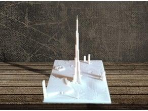 Burj Khalifa -Landing VIew