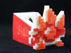 Spiny 8-bit Tape Koopa