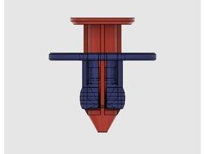 Push Pin Clip / Push Rivet / Retaining Clip (Nissan, Infiniti)