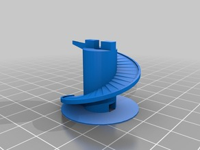 Auger Lift OPENSCAD Library