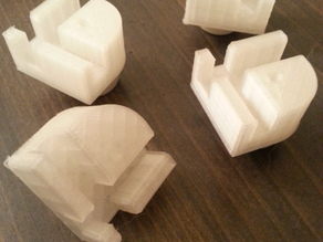 Ultimaker Feet with Holes for Rubber Feet (Hardware Separate) - Ultimaker Original