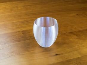 Elegantly Simple Goblet Candleholder