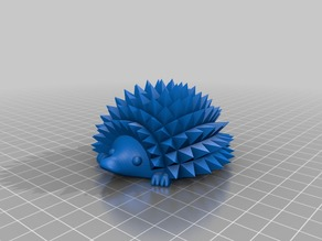 Hedgehog With Feet
