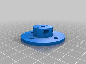 Round Stepper Axis Mount
